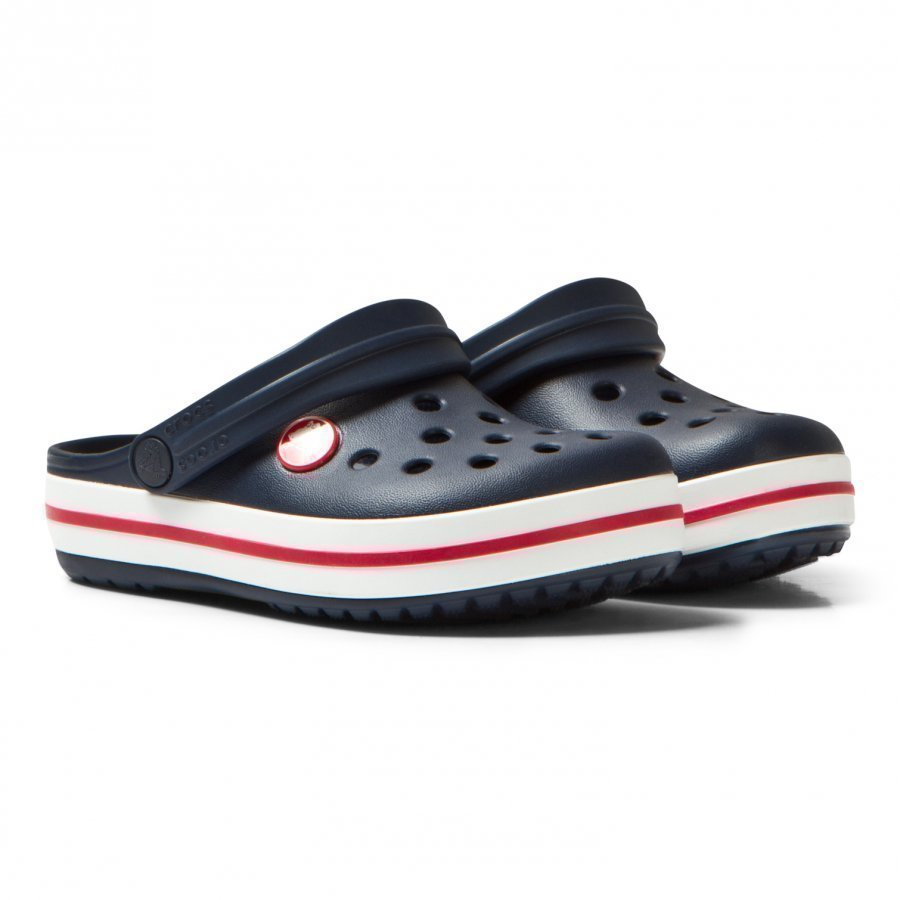 Crocs Crocband Clog Navy And Red Remmisandaalit