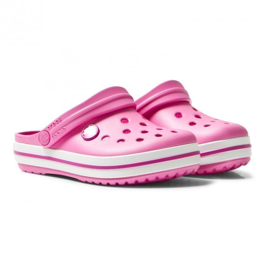 Crocs Crocband Clog Party Pink Remmisandaalit