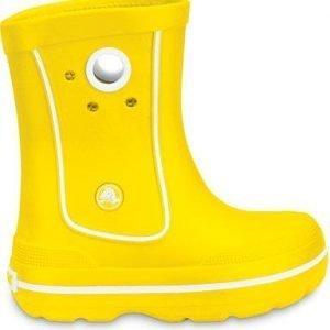 Crocs Crocband Jaunt Jr Kumisaappaat Keltainen