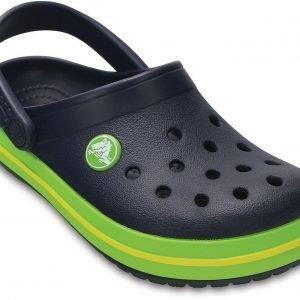 Crocs Crocband Kids Clog Sandaalit Navy / Vihreä