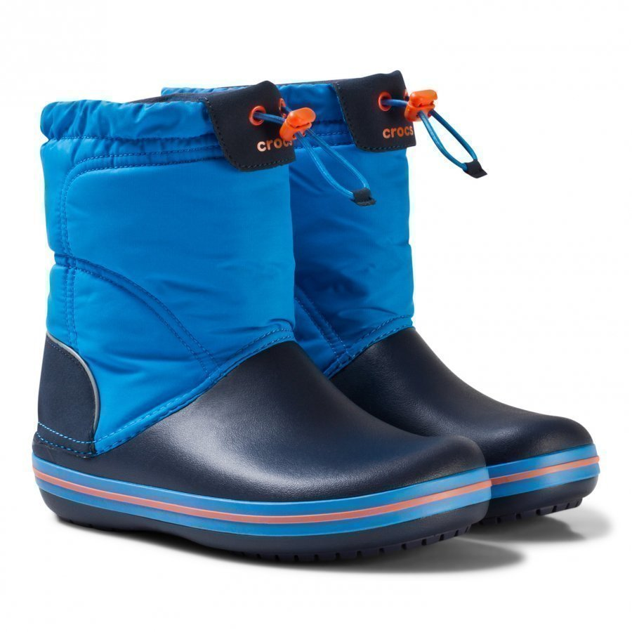 Crocs Crocband Lodgepoint Boot K Ocean/Navy Kumisaappaat