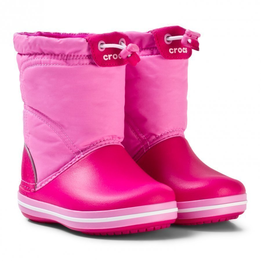 Crocs Crocband Lodgepoint Boots Candy Pink Kumisaappaat