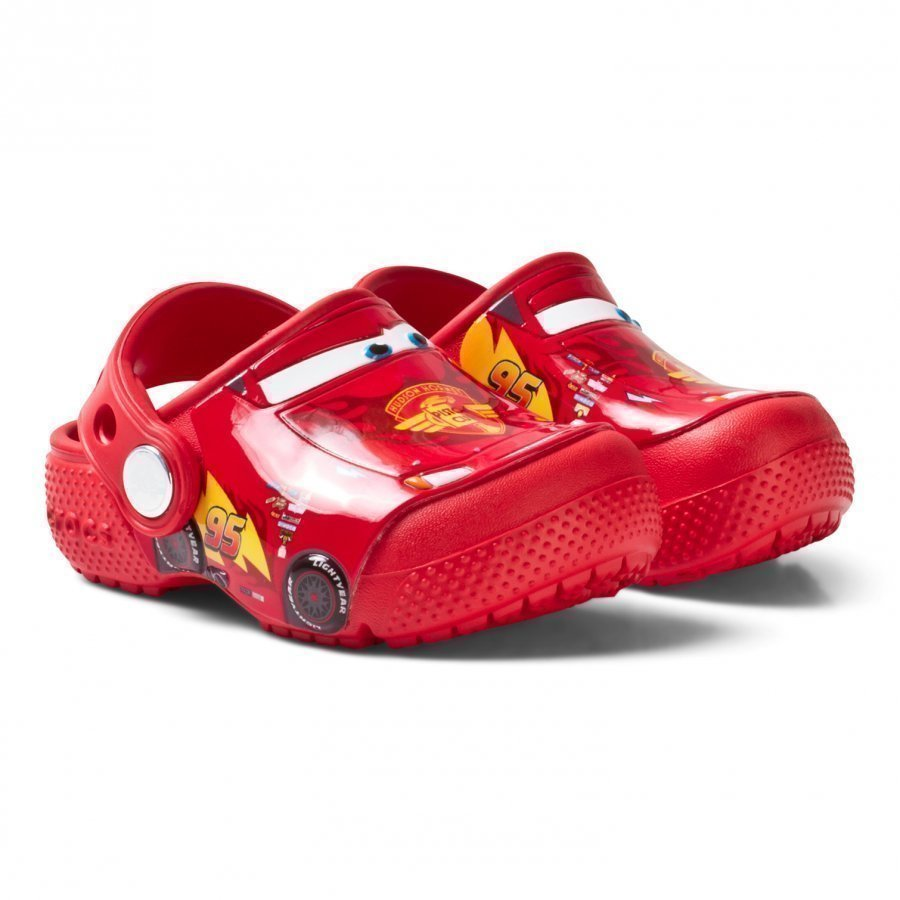 Crocs Crocsfunlab Cars Clog K Flame Slip On Sandaalit