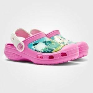 Crocs Frozenfever Clog Pinkit Slip On Kengät