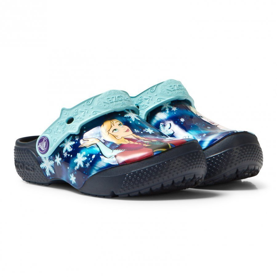 Crocs Fun Lab Frozen Clogs Navy Remmisandaalit