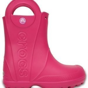 Crocs Handel It Rain Boots Candy Pink