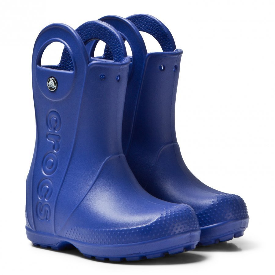 Crocs Handle It Rain Boot Kids Cerulean Blue Kumisaappaat