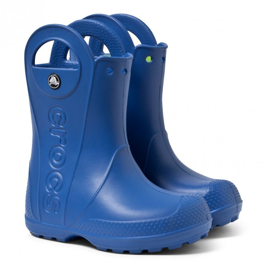 Crocs Handle It Rain Boot Kids Sea Blue Kumisaappaat