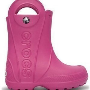 Crocs Handle It Rain Boots Fuxia