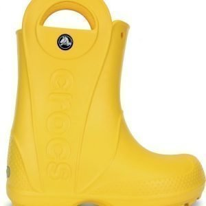 Crocs Handle It Rain Boots Yellow