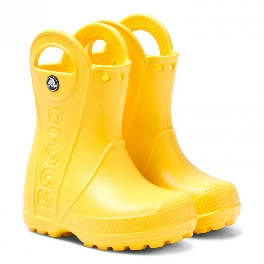 Crocs Handle It Rainboot Yellow Kumisaappaat