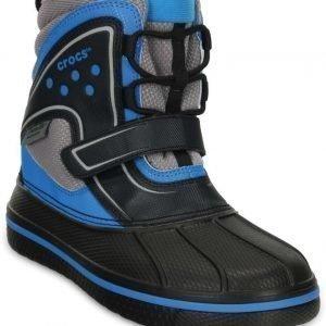 Crocs Kengät Vedenpitävät Allcast Boot Black/Ocean