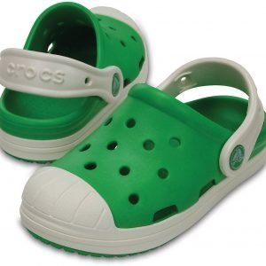 Crocs Kids Bump It Clog Sandaalit Vihreä