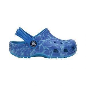 Crocs Kids' Classic Graphic Clog Sandaalit