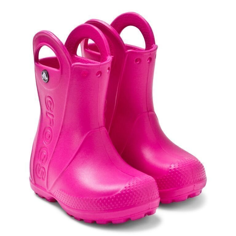 Crocs Kids Handle It Rain Boot Fuchsia Kumisaappaat
