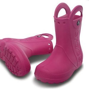 Crocs Kids Handle It Rain Boot Kumisaappaat Fuksia