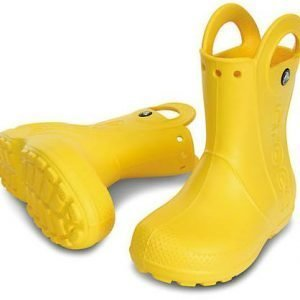 Crocs Kids Handle It Rain Boot Kumisaappaat Keltainen
