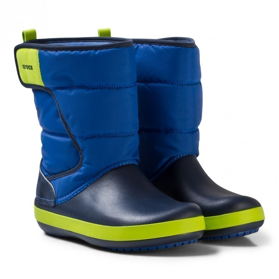 Crocs Lodgepoint Snow Boots Blue/Navy Talvisaappaat