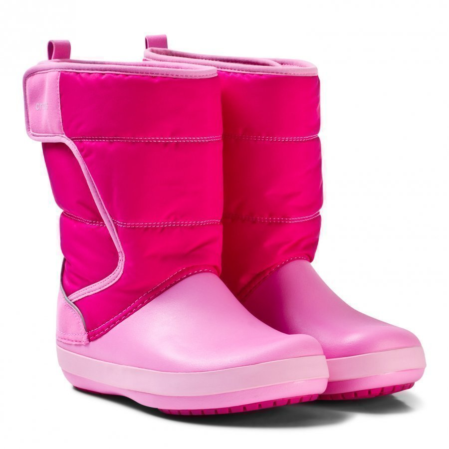 Crocs Lodgepoint Snow Boots Candy Pink Talvisaappaat
