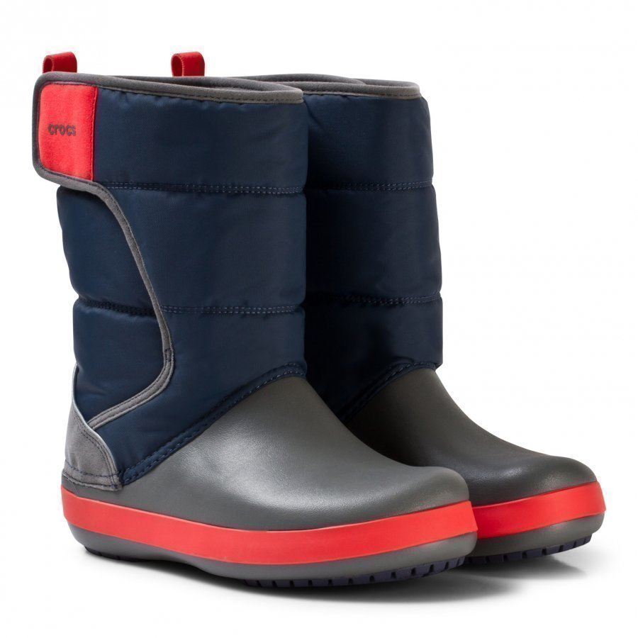 Crocs Lodgepoint Snow Boots Navy/Slate Talvisaappaat