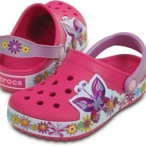 Crocs Pistokkaat Kids Crocband Butterfly Candy Pink