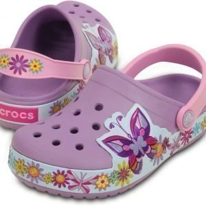 Crocs Pistokkaat Kids Crocband Butterfly Iris