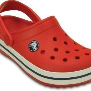 Crocs Pistokkaat Kids Crocband Flame/White