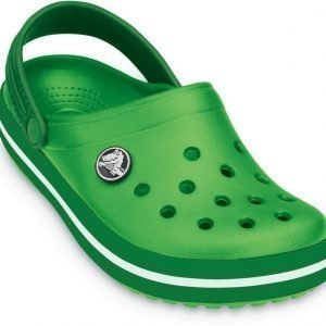 Crocs Pistokkaat Kids Crocband Lime/KellyGreen