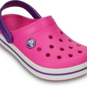 Crocs Pistokkaat Kids Crocband Neon Magenta/Neon Purple