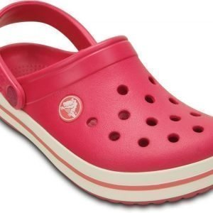 Crocs Pistokkaat Kids Crocband Raspberry/White