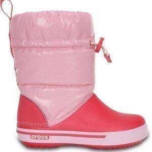 Crocs Saappaat Iri Gust Ballerina Pink/Poppy