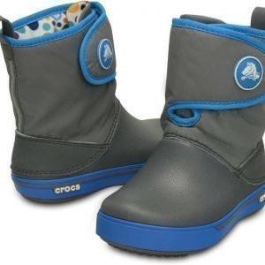 Crocs Talvisaappaat Crocband II5 Gust Boots Charcoal/Ocean