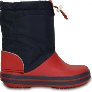 Crocs Talvisaappaat Lodge Point Navy/Red