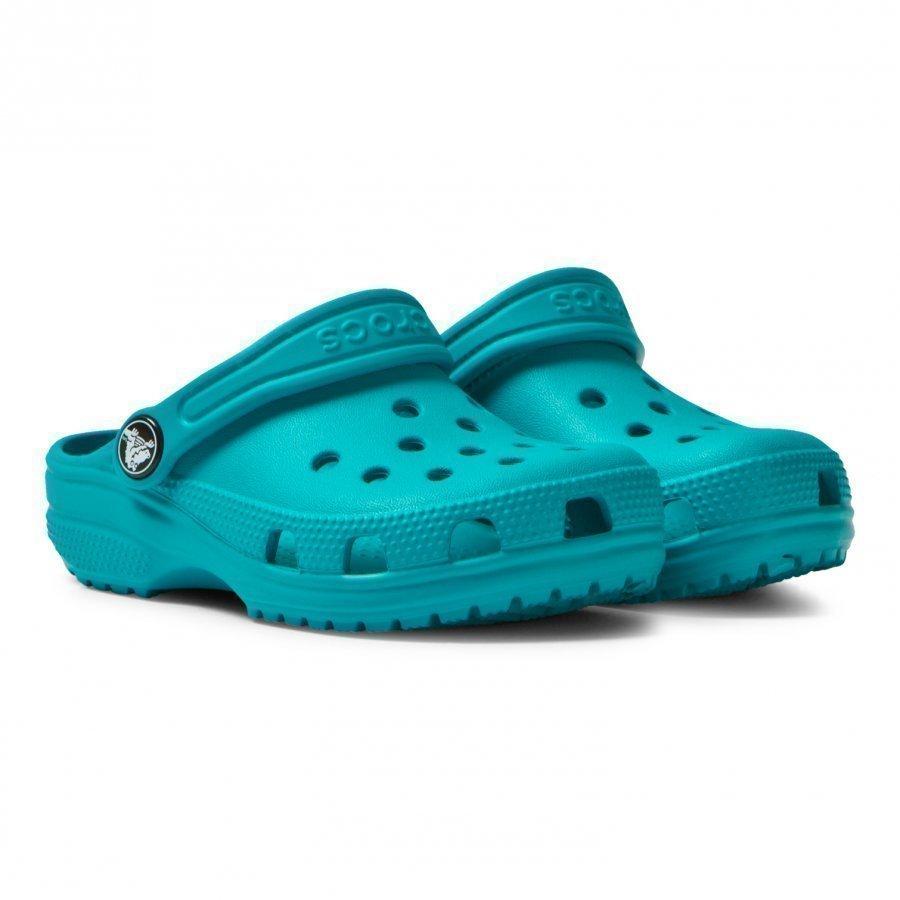 Crocs Turquoise Classic Clogs Remmisandaalit