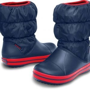 Crocs Winter Puff Boot Kids Talvisaappaat Navy