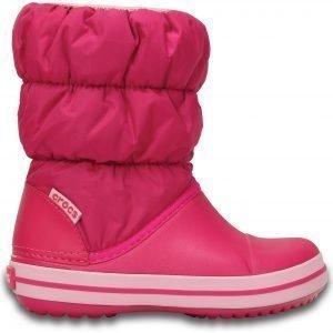 Crocs Winter Puff Boot Talvijalkineet Lasten Pinkki