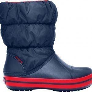 Crocs Winter Puff Boot Talvijalkineet Lasten Tummansininen