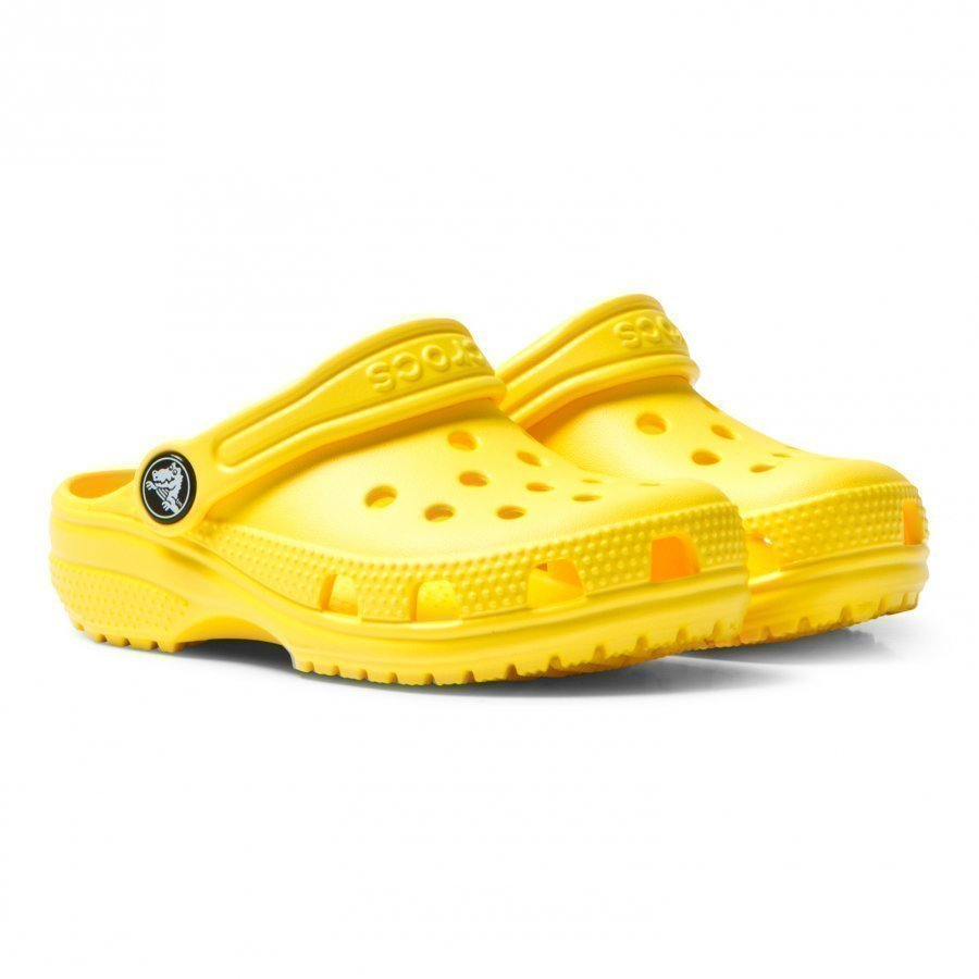 Crocs Yellow Classic Clogs Slip On Sandaalit