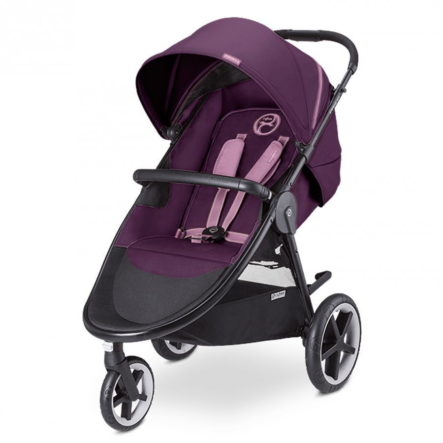 Cybex Eternis M3 Stroller Grape Juice Matkarattaat