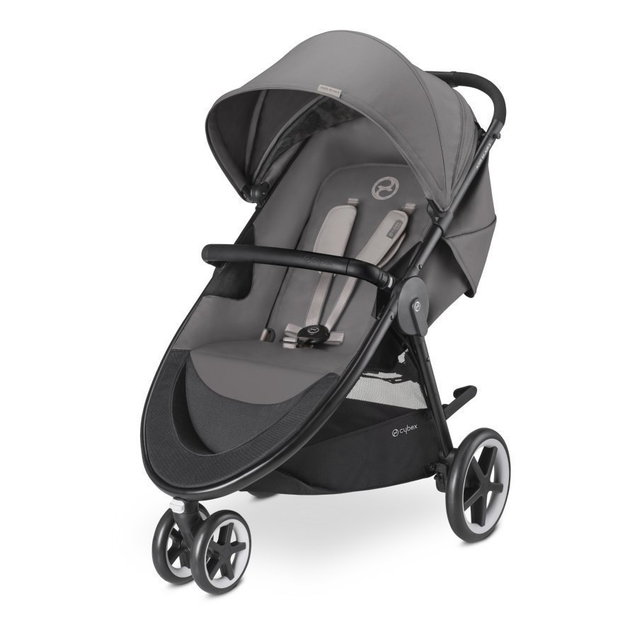 Cybex Gold Agis M Air 3 Manhattan Grey Mid Grey Lastenrattaat