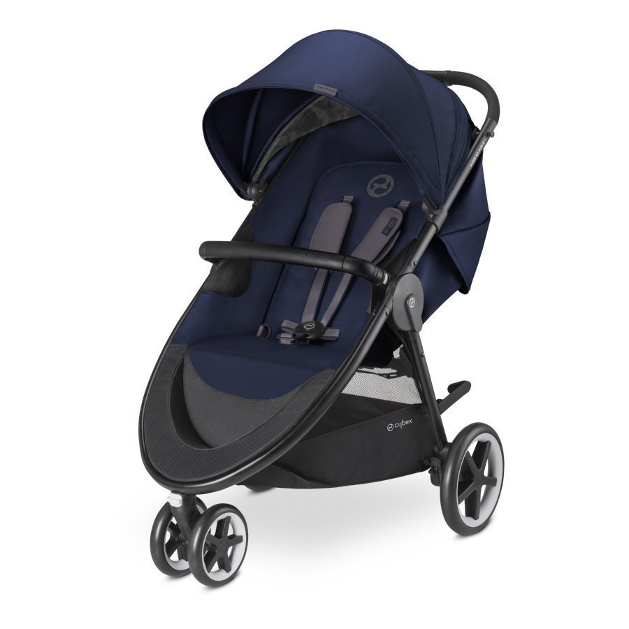 Cybex Gold Agis M Air 3 Midnight Blue Navy Blue Lastenrattaat