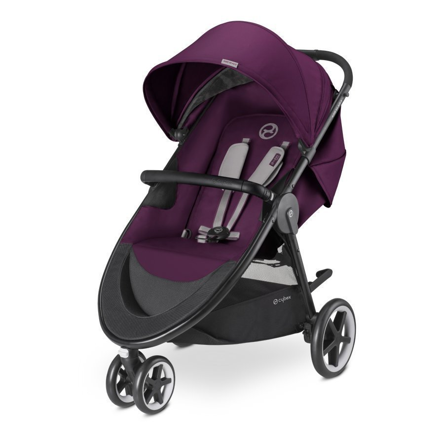 Cybex Gold Agis M Air 3 Mystic Pink Purple Lastenrattaat