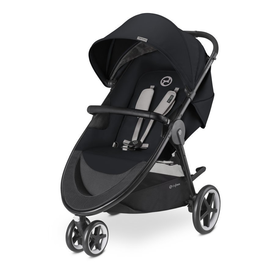 Cybex Gold Agis M Air 3 Stardust Black Black Lastenrattaat