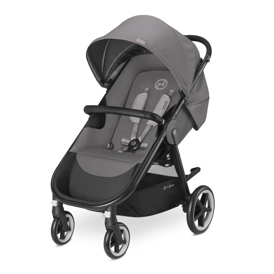 Cybex Gold Agis M Air 4 Manhattan Grey Mid Grey Lastenrattaat