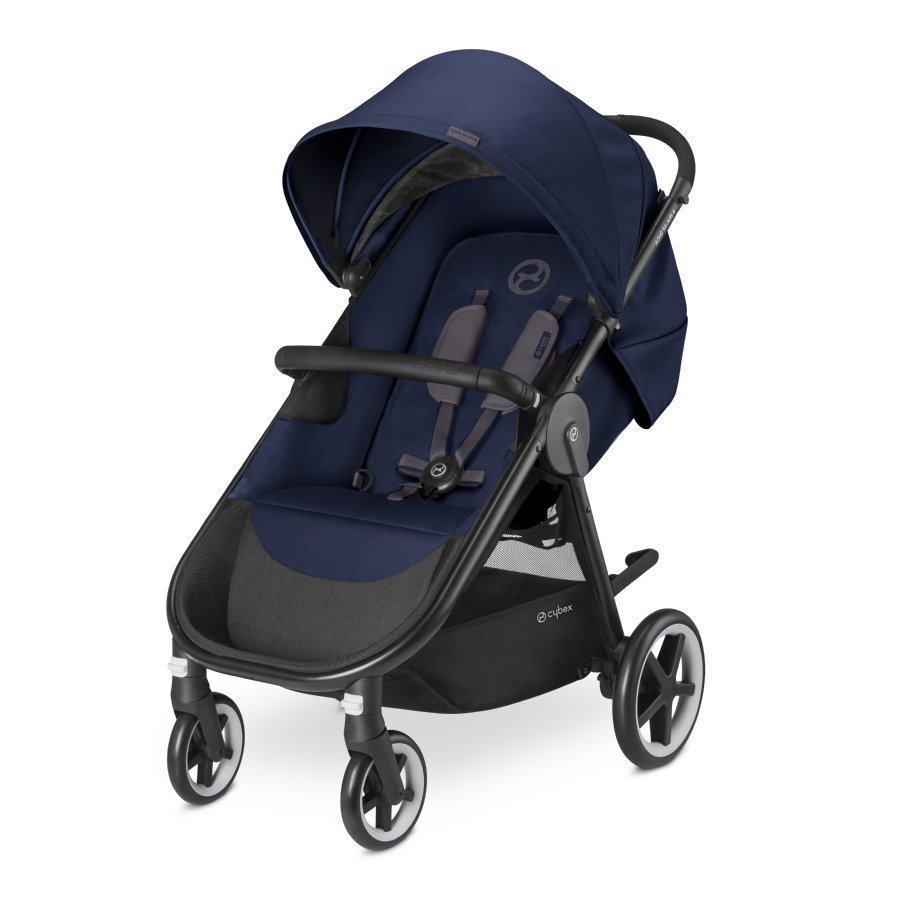 Cybex Gold Agis M Air 4 Midnight Blue Navy Blue Lastenrattaat