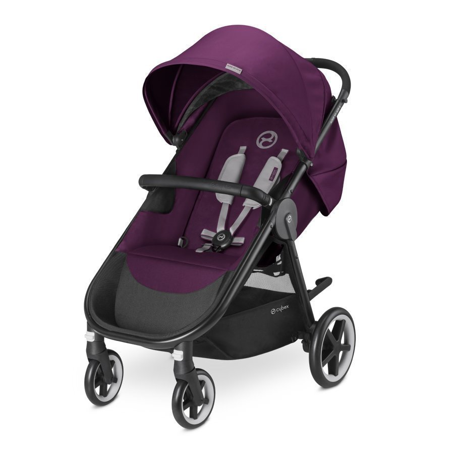 Cybex Gold Agis M Air 4 Mystic Pink Purple Lastenrattaat