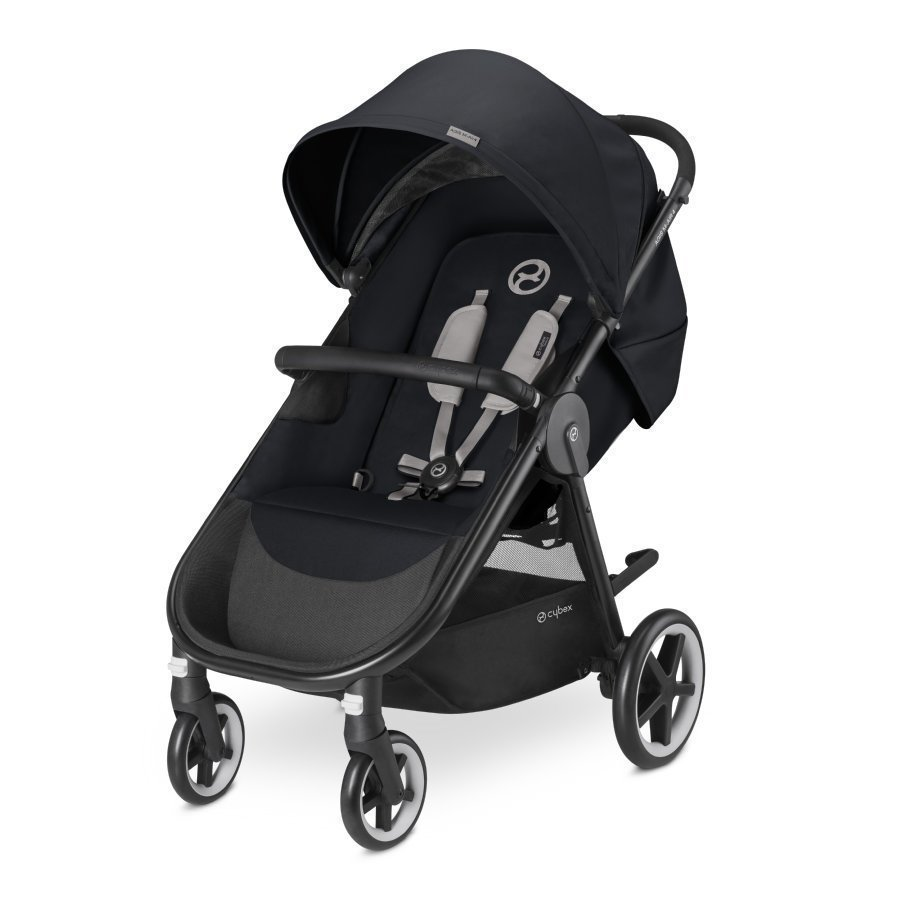Cybex Gold Agis M Air 4 Stardust Black Black Lastenrattaat