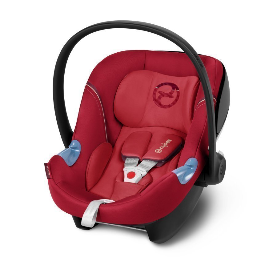 Cybex Gold Aton M Infra Red Red Turvakaukalo