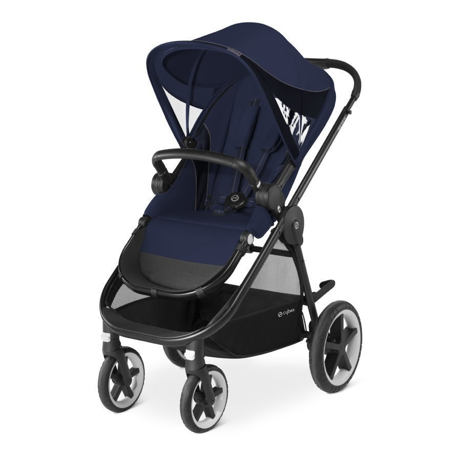 Cybex Gold Balios M Midnight Blue Navy Blue Matkarattaat