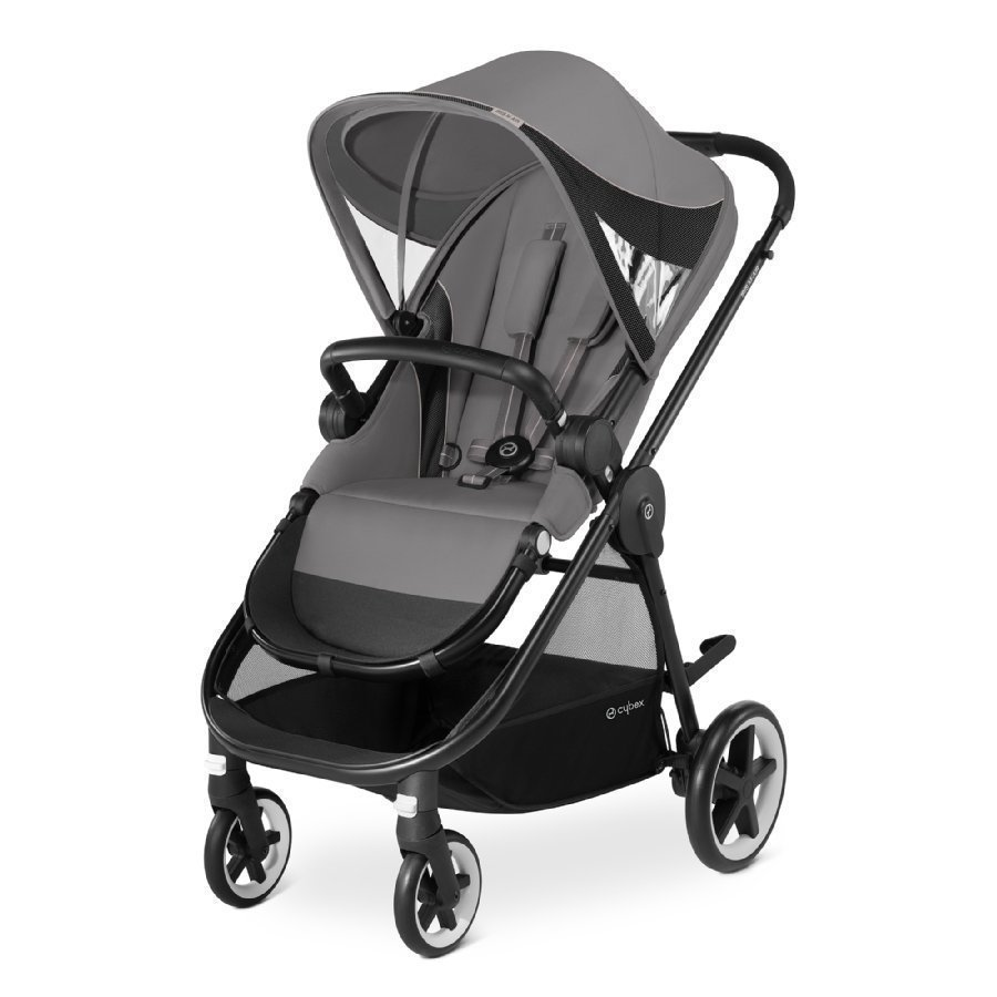 Cybex Gold Iris M Air Manhattan Grey Mid Grey Lastenrattaat